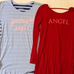 Victoria's Secret sleep shirts